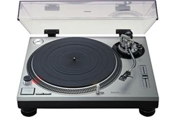 Technics SL 1200 MK2 Plattenspieler silber -