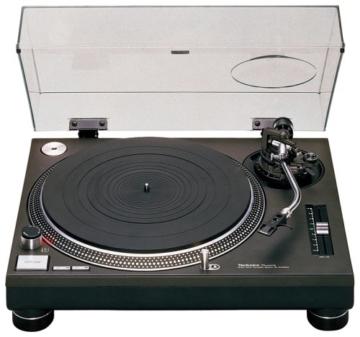 Technics SL 1210 MK2 Plattenspieler schwarz -