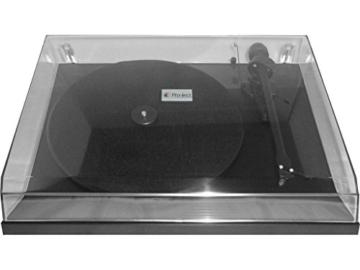 Pro Ject Debut 3 Plattenspieler Hochglanz schwarz (Ortofon OM5E) -