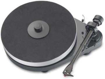 Pro-Ject RPM 5.1 Plattenspieler pianolack anthrazit/grau -